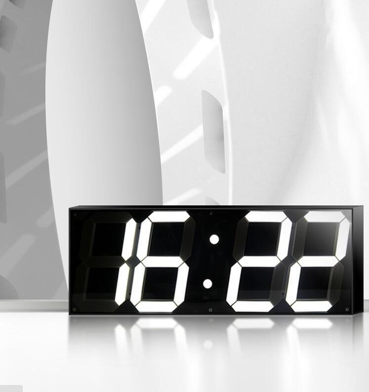 Acheter 59 Pouces Jumbo Digital Led Wall Clock Pour école Home