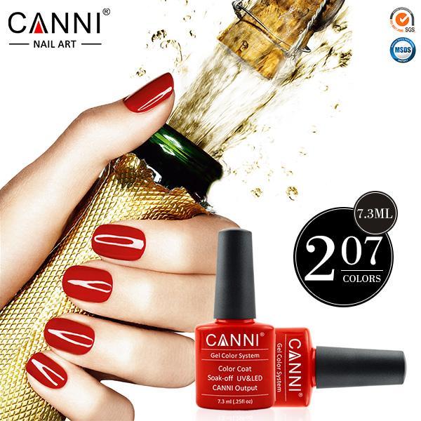 *7.3ml CANNI Wholesale Gel Polish 100% Original Brand High Quality Nail Art Salon DIY Manicure Soak Off Nail Gel Varnish