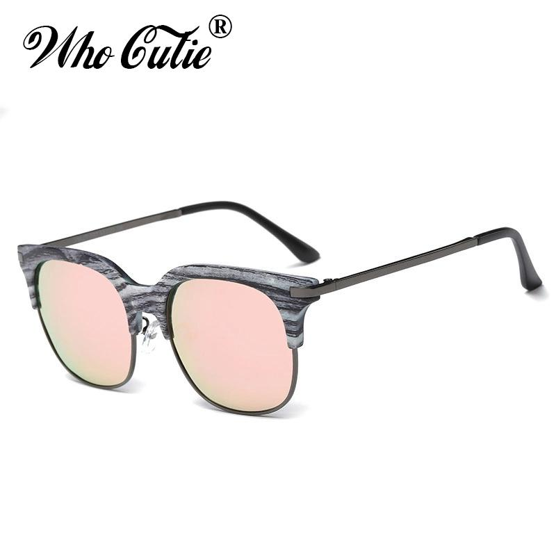 88a92f9c7cad6 Who Cutie 2018 New Square Club Master Polarized Sunglasses Cool Men Women  Retro Vintage Hot Rays Sun Glasses Shades Oculos Om473 Cheap Eyeglasses  Online ...
