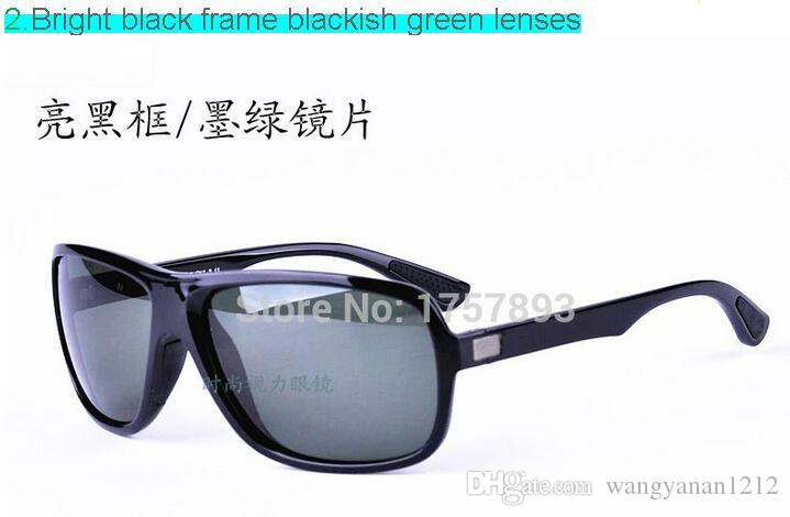 4192 anti-throw explosion-proof high quality toughened glass sunglasses trend of men and women