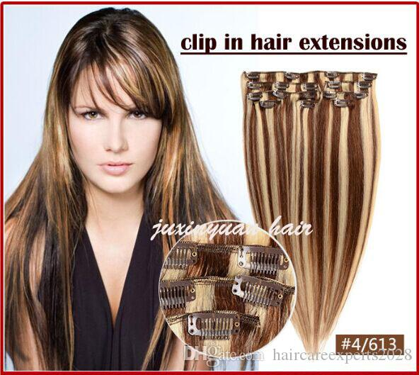 5a 14 26unprocessed Brazilian Remy Hair Straight Clip In Hair Remy
