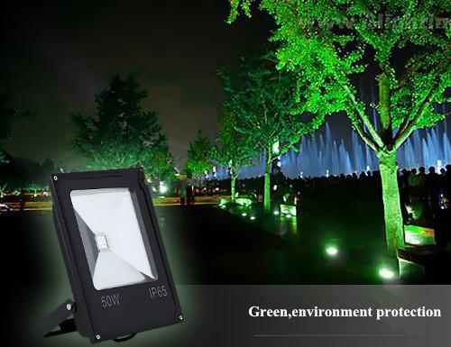 100W светодиодный прожектор RGBW открытый водонепроницаемый 50 Вт 100 Вт 150 Вт 200 Вт rgb наводнение dmx мощность достаточно супер яркий много цветов регулировка + пульт дистанционного управления