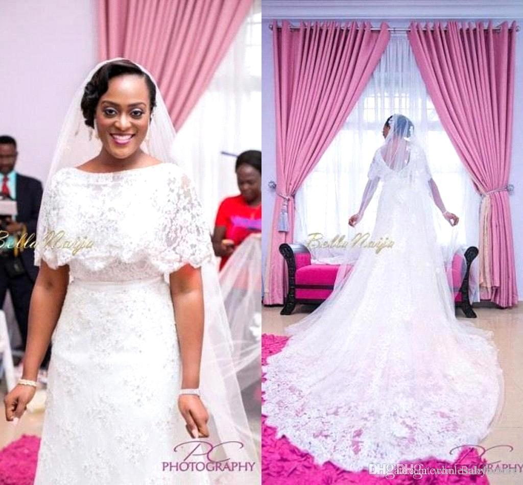 Discount aso ebi 2016 african traditional lace wedding for African lace wedding dress