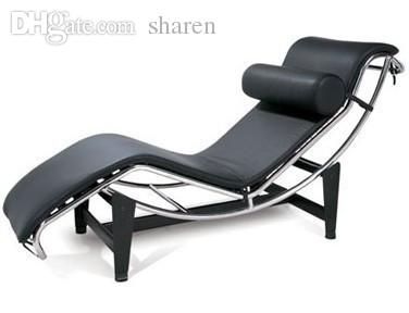 Acquista All\'ingrosso Le Corbusier Chaise Lounger Grande Poltrona ...