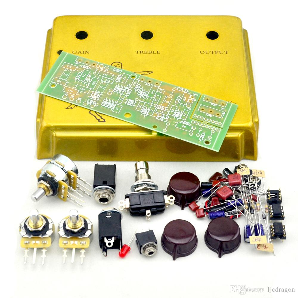 New Diy Klon Centaur Gold Professional Overdrive Guitar Effects A B Box Effect Schematic Pedal Clone Online With
