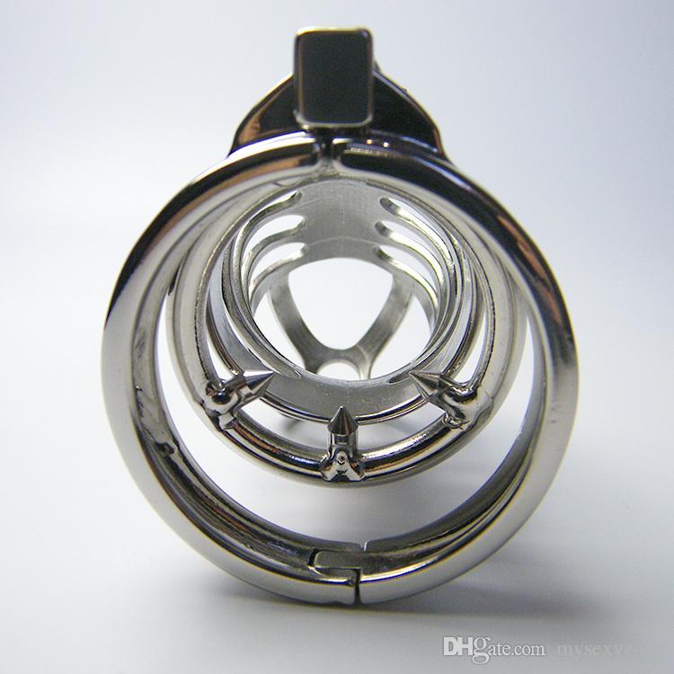 2017 neue und Hohe qualität Keuschheitsgürtel edelstahl cb metall stahl drachen keuschheitsgerät MKC009