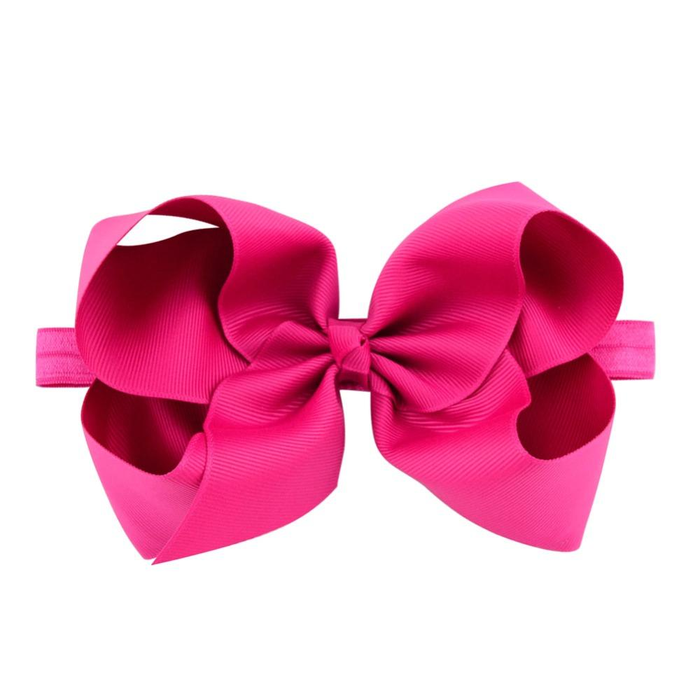 6 Inch Solid Headband With Elastic Boutique For Kids Girls Hair Jepitan Rambut Anak Model Ballerina Accessories Hairband Fashion Ladies Bands Combs From
