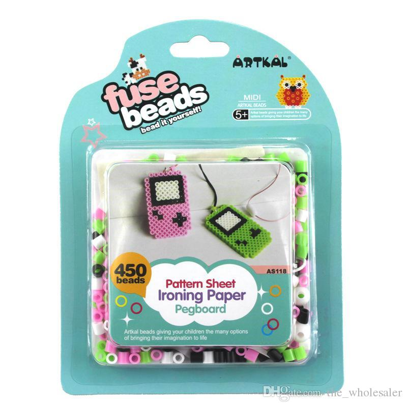 Game Boy Game Console 5mm EVA Hama Bead Perler Bead Set Handmade DIY ...