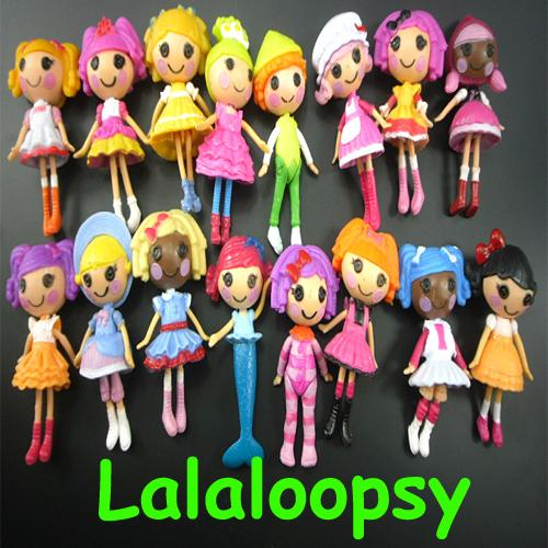 2019 2015 New Button Eyes Mini Lalaloopsy Dolls Kid Child Birthday