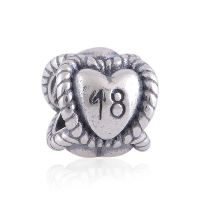 100٪ 925 الفضة 18 تاريخ الميلاد المعلم الخرزة يناسب باندورا مجوهرات الأوروبية سحر أساور