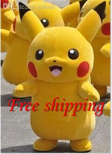 Wholesale high material hot pikachu mascot