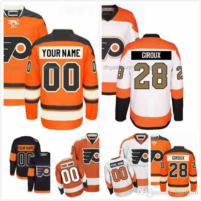 2019 Robert Hagg Jersey 8 Nolan Patrick 19 Travis Sanheim 6 Mens Ice Hodkey  Jerseys Philadelphia Flyers Orange White Black Full Stitched S 3XL From  Ljgomlb f37fb2f68