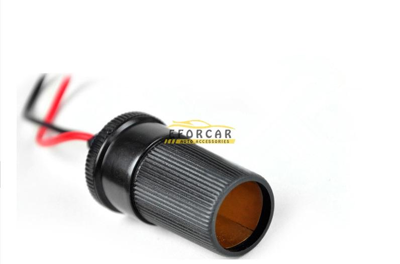 30A Car Pump Battery Terminal Test Clip Insulated Alligator Clamp Cable Auto Alligator Clips Cigarette Lighter & Battery