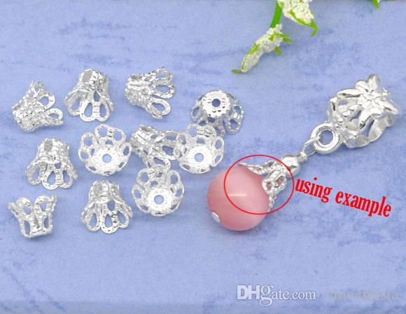 quastenkappen perlen crimpen endkappen spacer kordel texturierte steckerbeutel kunst ohrring erkenntnisse Verschluss filigrane charme schmuck machen