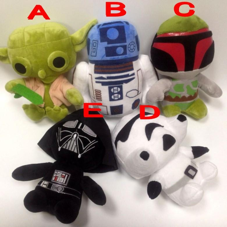 4a98eef15af New Star Wars Plush Toy Cartoon Super Deformed Boba Yoda Robot Stormtrooper  Stuffed Animals Soft Doll Toy 7inch 5 Stlys Star Wars Plush Toy Online with  ...