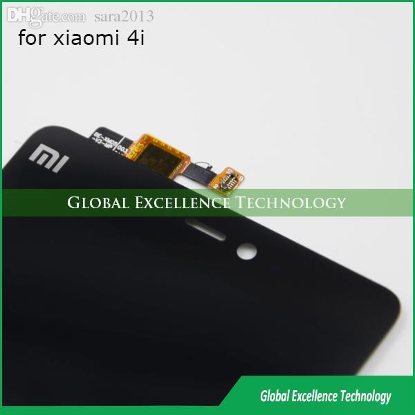 Wholesale-Xiaomi Mi4i LCD Screen 100% Original LCD Display Touch Panel  Screen for FHD 5 0inch Xiaomi Mi4i Mi 4i Smart Phone