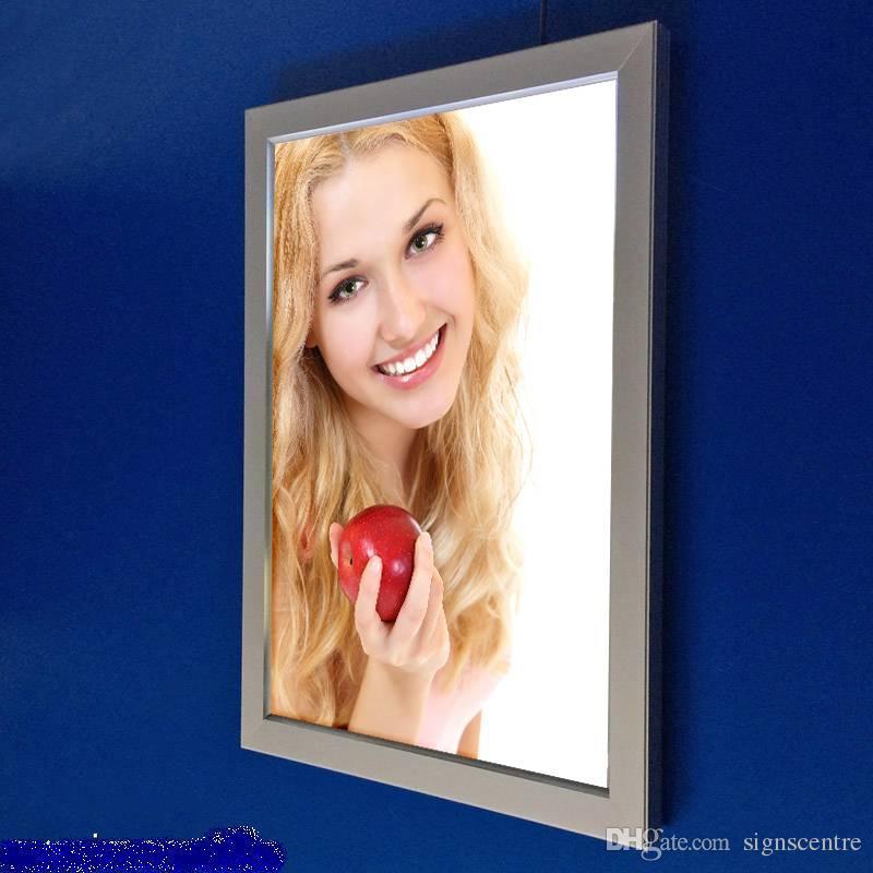 Großhandel Led Licht A4 Panel Clip Rahmen Plakat Box Einzelne Seite ...