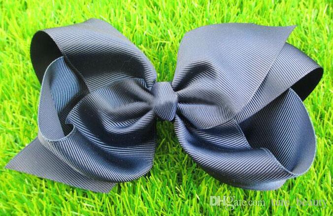 / 6 inch big ribbon bows boutique hair bows baby hair headband baby girls hair accessories for baby headband/princess hair band