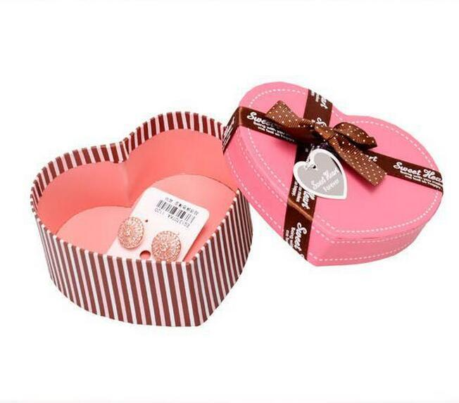 Wholesale Customized Heart Shaped Gift Boxes For Party Gift ...