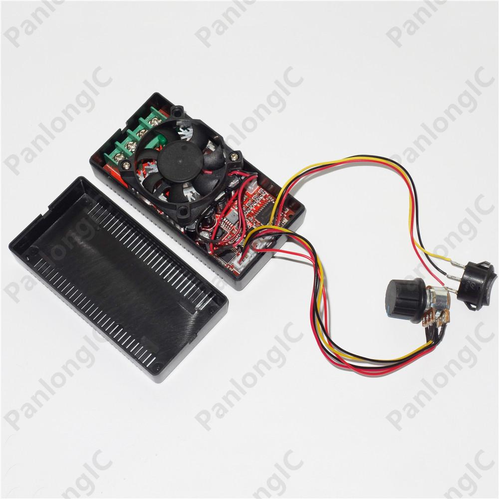 2018 Panlongic Dc9 50v 30a H Bridge Dc Motor Speed Controller Circuit Diagram Reversible Pwm Rc 12v 24v 48v 1500w Forward Reverse Programable Switch From