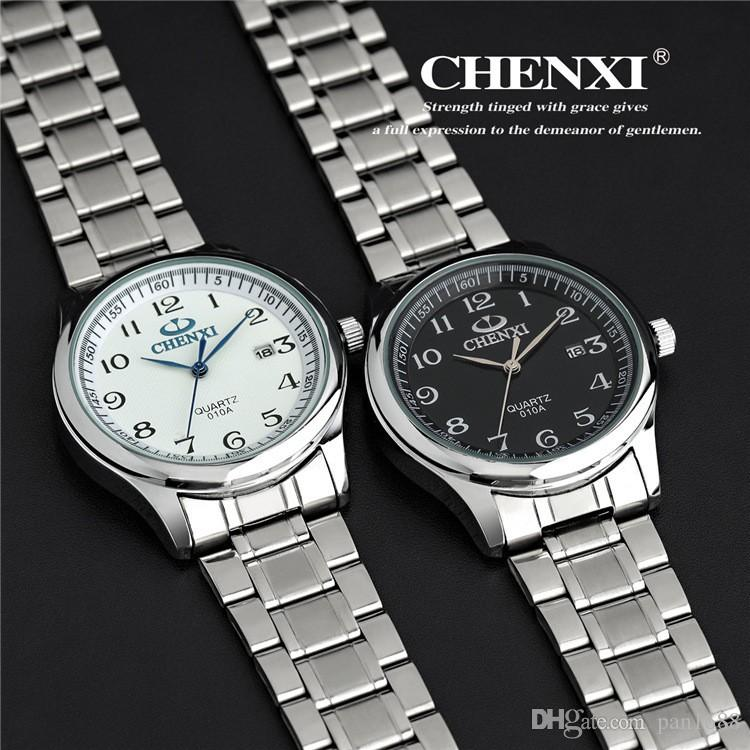 High-end men's business casual brand waterproof watch, military men all stainless steel watches, sports watches