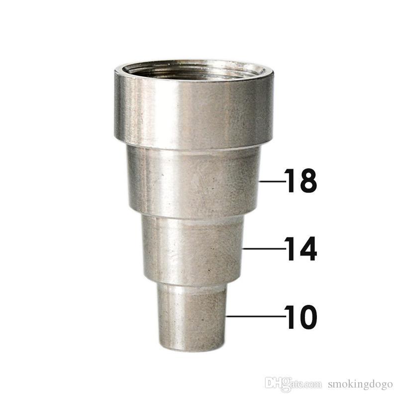 Smoking Dogo 2016 New Arrival Hinged Gents Cap Dab Rig Titanium Nail Universal 10mm 14mm 18mm Male Female Titanium Nail For Bong