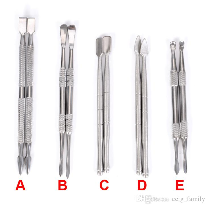 GR2 Titanium Dabber Tool Wax Oil Vape Pick Carving Sputula Dual Tip Tool for Oil Wax Titanium Dabber tools