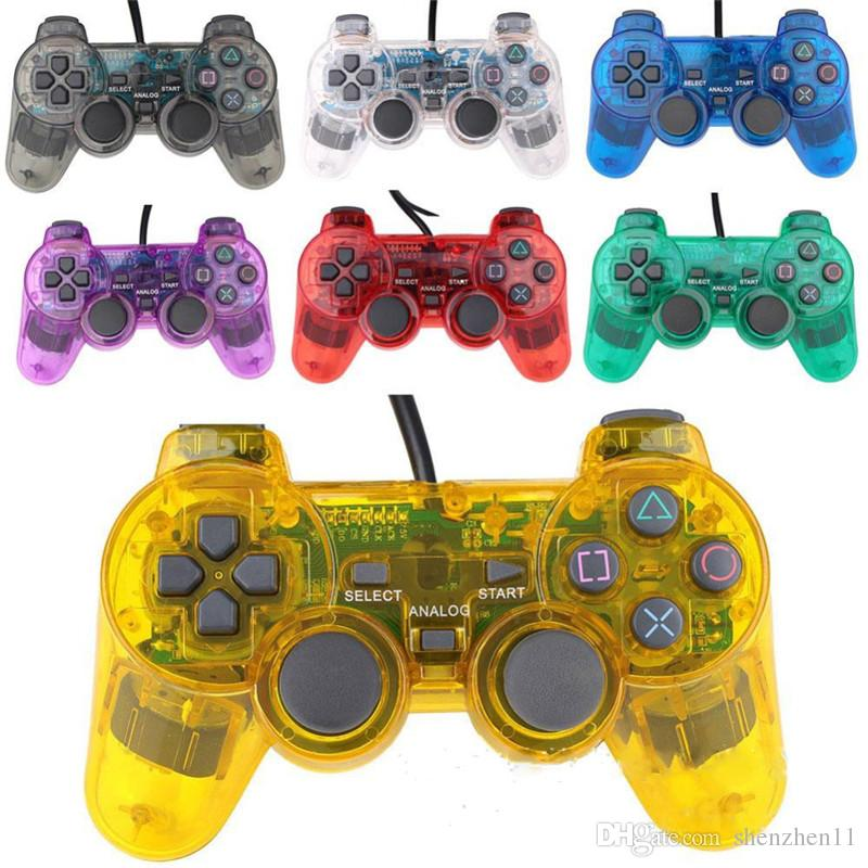 Transparent 4 farben Kompatibel Für P3 controller Joysticks Gamepads Controller Drahtlose Bluetooth Game Controller OTH718