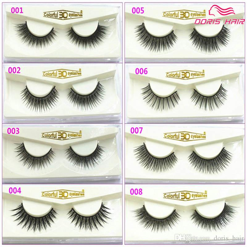 Wholesale Fashion 3d False Eyelashes Natural Or Thick Fashion Lash