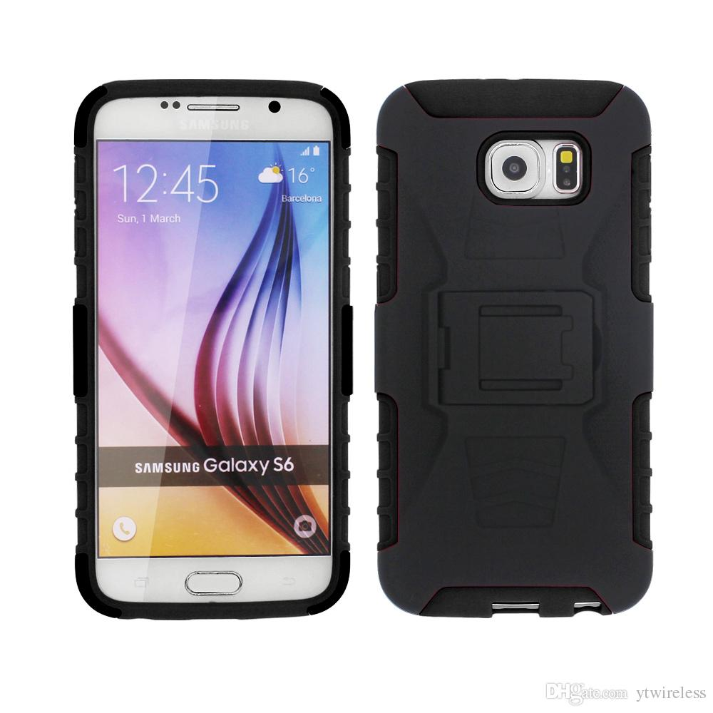 For Alcatel U5 Hd A7 Xl Idol 5 S A3 A30 Plus Dual Layer Protective Premium Shell Holster Kiskstand Clip Combo Phone Case Waterproof Cell Phone Cases