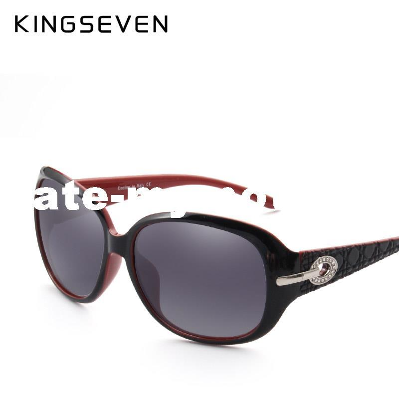 bc4dd19f9f KINGSEVEN Gradient Sunglasses Women Polarized Elegant Rhinestone Ladies  Designer Sun Glasses Eyewear Accessories Oculos De Sol High Quality De Sol  China ...