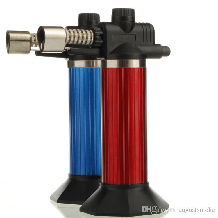 welding gun lighter flamethrower barbecue windproof gun jet torch lighter also offer grinder smoking pipe new