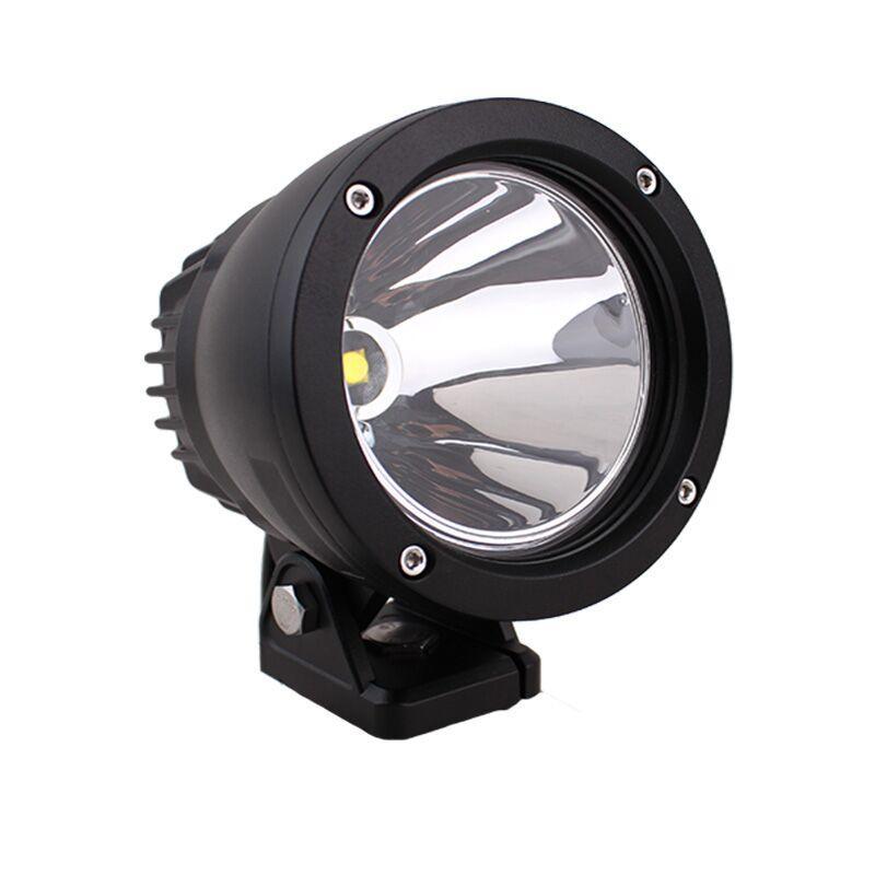 4.5 pouces ronde 25W LED lumière de travail 4x4 en aluminium CREE Spot LED feux d'entraînement pour hors route véhicules Jeep camion 4WD offroad lampe