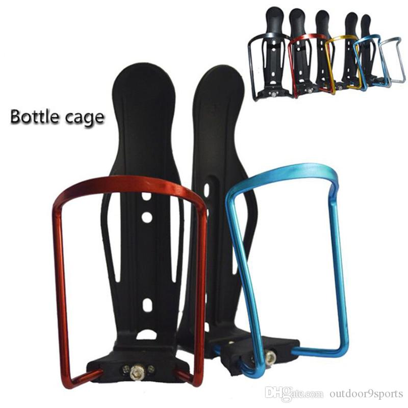 be3510c7c07 2019 Aluminum Bicycle Bottle Holder Cycling Water Drink Kettle Holder  Mountain Bike Accessories Bottle Cage Adjustable Cycling Bottle Cages From  ...