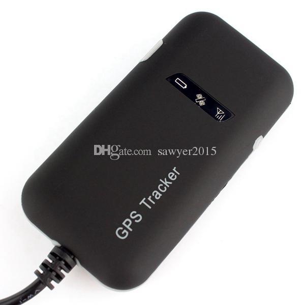TK110 Mini auto gps tracker Quad Band antifurto GSM / GPRS / GPS veicolo auto moto in tempo reale GPS Tracker con scatola al minuto
