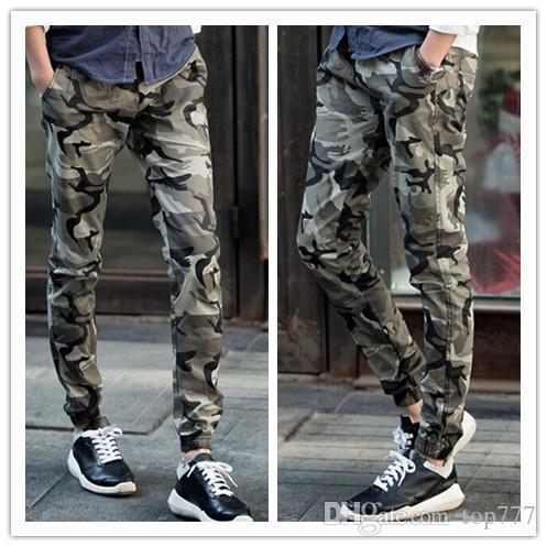 Grosshandel Neue Ankunft Camouflage Jogger Fur Manner Skinny Joggers
