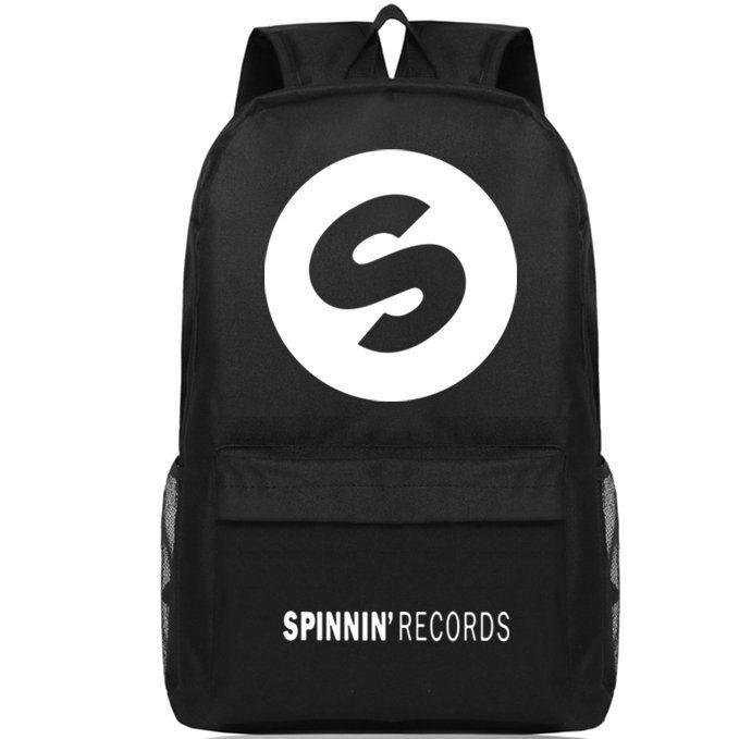 Electronic DJ backpack Spinnin Records school bag S design daypack Music  schoolbag Outdoor rucksack Sport day pack