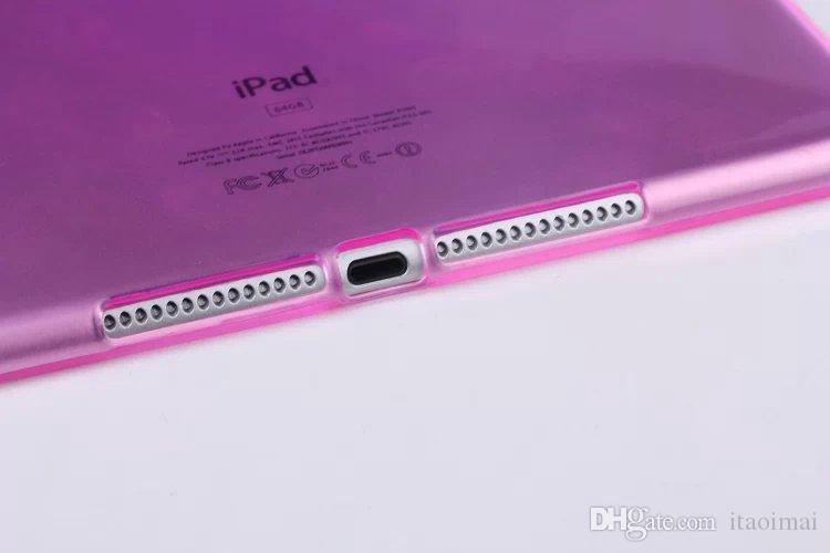 Najnowsza miękka obudowa TPU dla Apple iPad Mini 2 4 5 AIR 2 Przezroczysty jasny ochronny skórę powłoki do iPada 6 powietrza 2