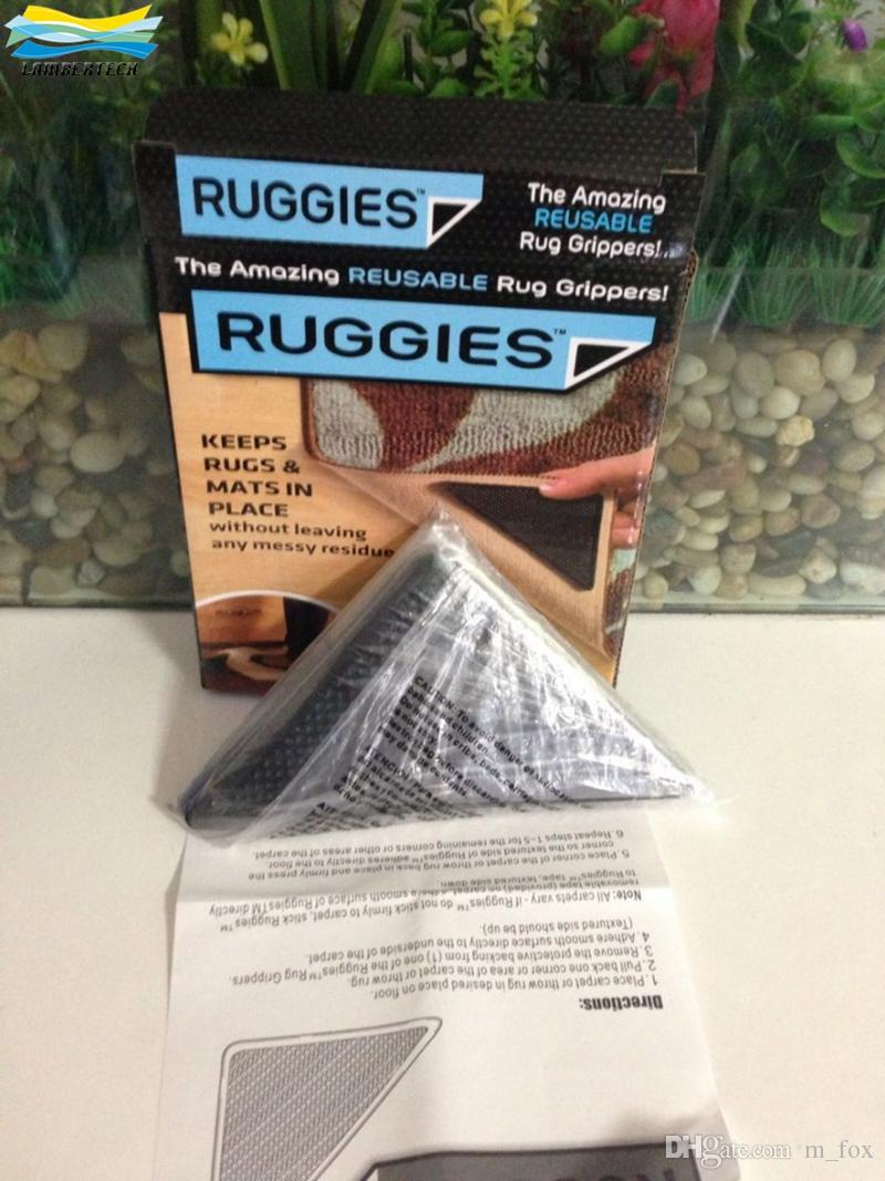 Delightful RUGGIES Rug Grippers Stick For Doormats Bathroom Mats Practical Rug Gripper  Anti Slip Underlay Stick Carpet Ruggies Anti Skid Carpets Mats