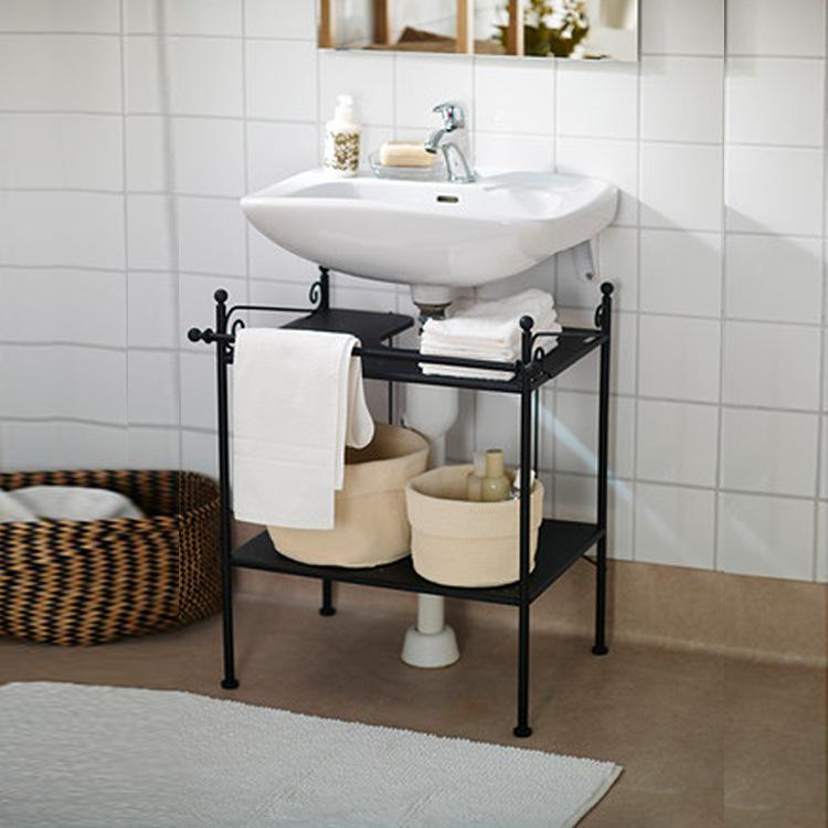 Factory Direct Iron Floor Bathroom Cabinet Washbasin Cabinet - Factory direct bathroom cabinets