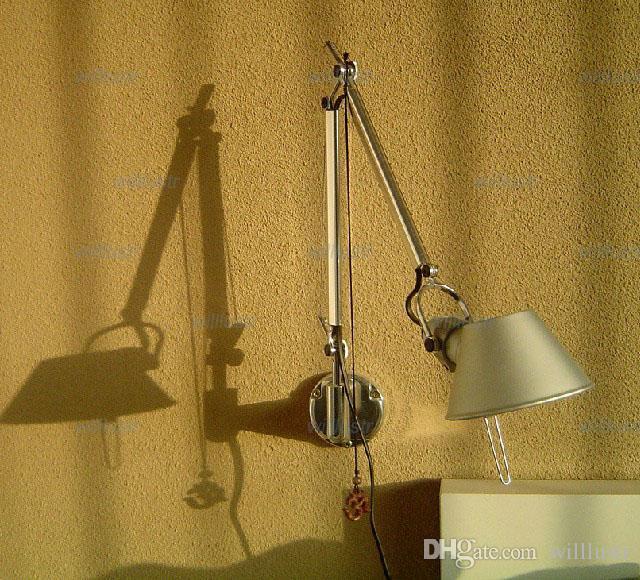الحديث نمط الجدار مصباح الألومنيوم الجدار ضوء الجدة تصميم الجدار الشمعدان الذراع طول 25 + 25 سنتيمتر شحن مجاني مدخل الممر مكتب الدراسة