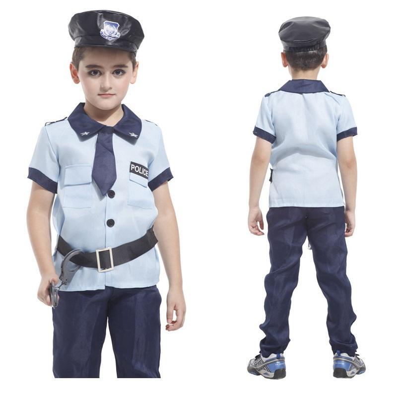 Acquista Costume Da Poliziotto Bambini Costume Da Super Costume Di X Men Costume  Di Carnevale Di Halloween Bambini Festa Cosplay Ragazzi Che Coprono Gli ... 85b2280114c5