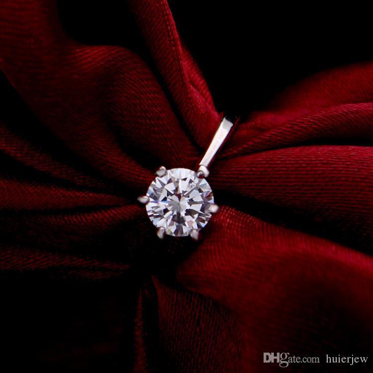 Brautjungfer Schmuck Set für Hochzeit Gold wie 925 Sterling Silber Ketten Halskette Anhänger Ohrring für Frauen Edelstein Ringe Partei Schmuck Sets