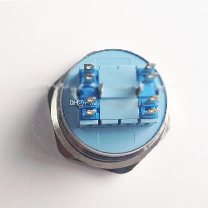 이 CMP 디아 장착 : 40mm 오프 금속 파손 방지 스테인리스 푸시 버튼, 리셋 스위치 순간을 30mm 푸시 버튼 캡 래칭