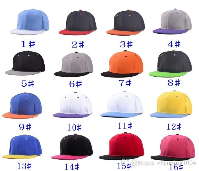 bb852ddc905 Fashion Designer Plain Hip Hop Caps Adjustable Snapbacks Custom ...