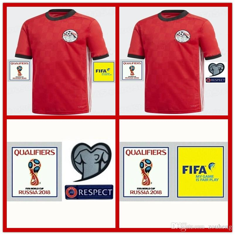 2018 BEST QUALITY Egypt WORLD CUP M.SALAH MEN Soccer Jerseys Home ... | Best image of 41 best cheap distributors of home goods in egypt 2018