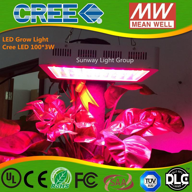 led grow light 300w cree 9 band full spectrum led grow lights red blue white uv ir led plant growing lighting lamps ac85 265v garden lights led led growing
