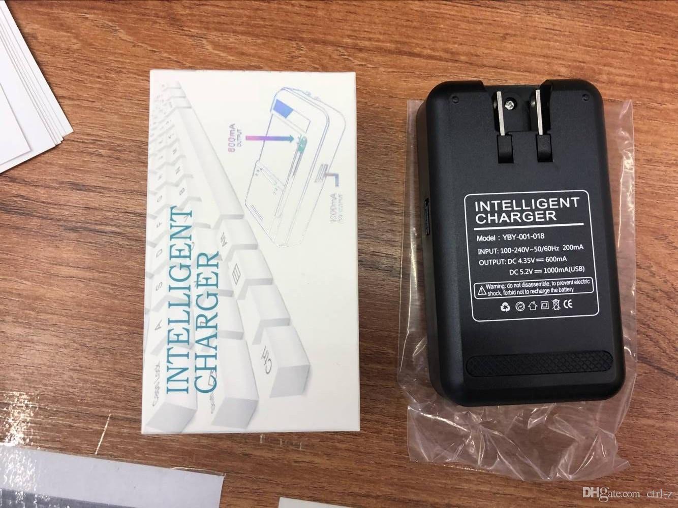 YIBOYUAN SS-8 SS-5 YB-108 3.8 v LCD Ekran Taşınabilir Evrensel Pil Dock bize tak Duvar Şarj Ile USB Portu