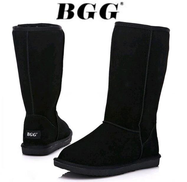 2014 hohe Qualität WGG Frauen Classic hohe Stiefel Damen Stiefel Boot  Schnee Stiefel Winterstiefel Lederstiefel Zertifikat Staubbeutel Drop  Shipping 4bf0903edd