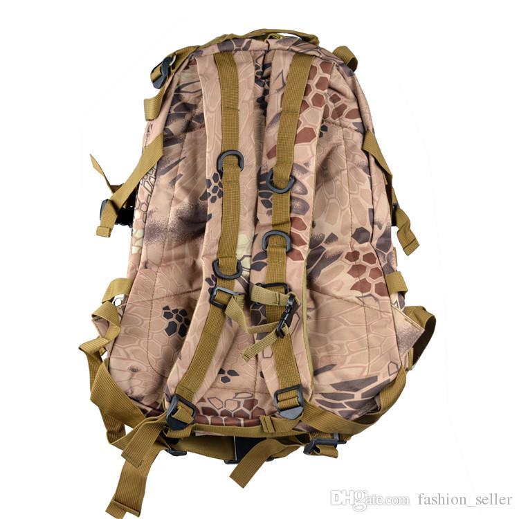 Unisexe CS Militaire Sac À Dos Camouflage Sacs En Plein Air Escalade Montagne Adulte Extérieur Sacs À Dos Imperméable Oxford Tissu 40L
